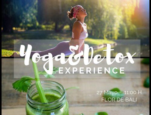 Flor de Bali y Terapeutics estamos encantados de presentarte el Yoga&Detox Experience